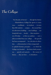 Page 12, 1959 Edition, Elizabethtown College - Conestogan / Etonian Yearbook (Elizabethtown, PA) online yearbook collection