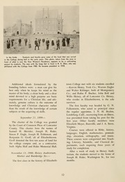 Page 16, 1959 Edition, Elizabethtown College - Conestogan / Etonian Yearbook (Elizabethtown, PA) online yearbook collection