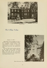 Page 17, 1959 Edition, Elizabethtown College - Conestogan / Etonian Yearbook (Elizabethtown, PA) online yearbook collection