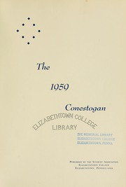 Page 5, 1959 Edition, Elizabethtown College - Conestogan / Etonian Yearbook (Elizabethtown, PA) online yearbook collection