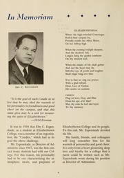 Page 8, 1959 Edition, Elizabethtown College - Conestogan / Etonian Yearbook (Elizabethtown, PA) online yearbook collection