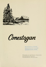 Page 5, 1961 Edition, Elizabethtown College - Conestogan / Etonian Yearbook (Elizabethtown, PA) online yearbook collection