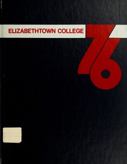 Page 1, 1976 Edition, Elizabethtown College - Conestogan / Etonian Yearbook (Elizabethtown, PA) online yearbook collection