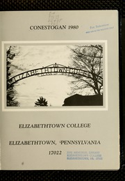 Page 3, 1980 Edition, Elizabethtown College - Conestogan / Etonian Yearbook (Elizabethtown, PA) online yearbook collection