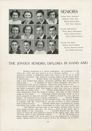 Page 16, 1939 Edition, East Huntingdon High School - Mirror Yearbook (Alverton, PA) online yearbook collection