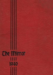 1940 Edition, East Huntingdon High School - Mirror Yearbook (Alverton, PA)