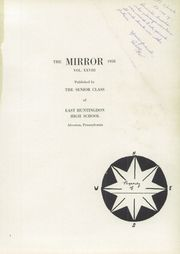 Page 5, 1958 Edition, East Huntingdon High School - Mirror Yearbook (Alverton, PA) online yearbook collection
