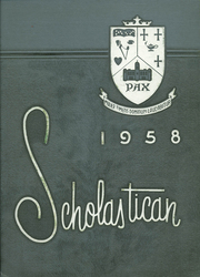 Page 1, 1958 Edition, St Benedict Academy - Scholastican Yearbook (Erie, PA) online yearbook collection