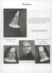 Page 10, 1958 Edition, St Benedict Academy - Scholastican Yearbook (Erie, PA) online yearbook collection