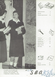 Page 9, 1958 Edition, St Benedict Academy - Scholastican Yearbook (Erie, PA) online yearbook collection