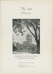 Page 5, 1945 Edition, Lock Haven University - Praeco Yearbook (Lock Haven, PA) online yearbook collection