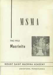 Page 5, 1952 Edition, Mount St Macrina Academy - Macrinite Yearbook (Uniontown, PA) online yearbook collection