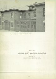 Page 6, 1952 Edition, Mount St Macrina Academy - Macrinite Yearbook (Uniontown, PA) online yearbook collection
