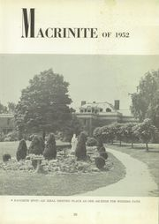 Page 7, 1952 Edition, Mount St Macrina Academy - Macrinite Yearbook (Uniontown, PA) online yearbook collection