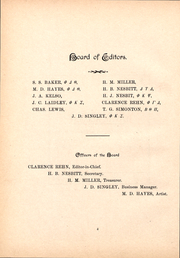 Page 16, 1892 Edition, Washington and Jefferson College - Pandora Yearbook (Washington, PA) online yearbook collection
