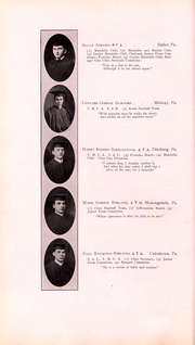 Page 41, 1911 Edition, Washington and Jefferson College - Pandora Yearbook (Washington, PA) online yearbook collection