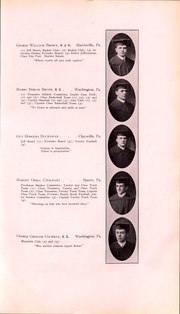 Page 42, 1911 Edition, Washington and Jefferson College - Pandora Yearbook (Washington, PA) online yearbook collection