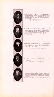 Page 43, 1911 Edition, Washington and Jefferson College - Pandora Yearbook (Washington, PA) online yearbook collection