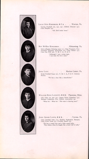 Page 45, 1911 Edition, Washington and Jefferson College - Pandora Yearbook (Washington, PA) online yearbook collection