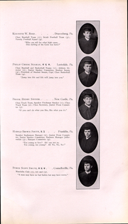 Page 48, 1911 Edition, Washington and Jefferson College - Pandora Yearbook (Washington, PA) online yearbook collection