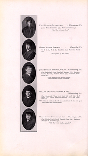 Page 49, 1911 Edition, Washington and Jefferson College - Pandora Yearbook (Washington, PA) online yearbook collection