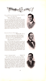 Page 58, 1911 Edition, Washington and Jefferson College - Pandora Yearbook (Washington, PA) online yearbook collection