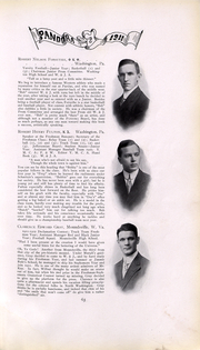 Page 64, 1911 Edition, Washington and Jefferson College - Pandora Yearbook (Washington, PA) online yearbook collection