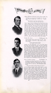 Page 67, 1911 Edition, Washington and Jefferson College - Pandora Yearbook (Washington, PA) online yearbook collection