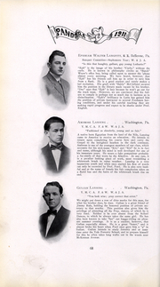 Page 69, 1911 Edition, Washington and Jefferson College - Pandora Yearbook (Washington, PA) online yearbook collection