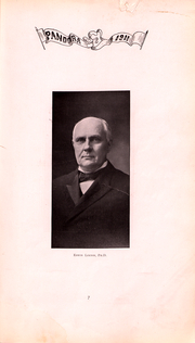 Page 8, 1911 Edition, Washington and Jefferson College - Pandora Yearbook (Washington, PA) online yearbook collection