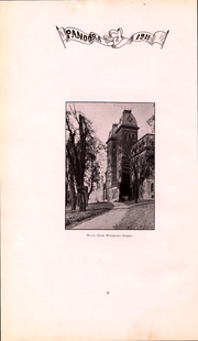 Page 9, 1911 Edition, Washington and Jefferson College - Pandora Yearbook (Washington, PA) online yearbook collection
