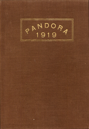 Page 1, 1919 Edition, Washington and Jefferson College - Pandora Yearbook (Washington, PA) online yearbook collection