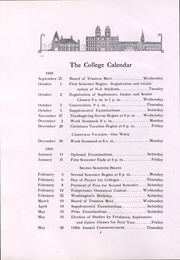 Page 9, 1919 Edition, Washington and Jefferson College - Pandora Yearbook (Washington, PA) online yearbook collection