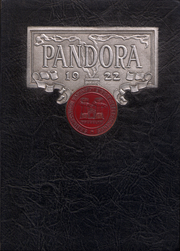 Washington and Jefferson College - Pandora Yearbook (Washington, PA) online yearbook collection, 1922 Edition, Page 1