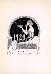Page 5, 1924 Edition, Washington and Jefferson College - Pandora Yearbook (Washington, PA) online yearbook collection