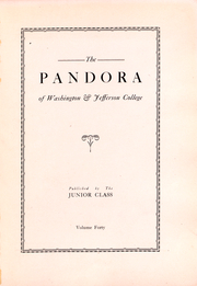 Page 7, 1925 Edition, Washington and Jefferson College - Pandora Yearbook (Washington, PA) online yearbook collection