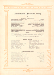 Page 13, 1929 Edition, Washington and Jefferson College - Pandora Yearbook (Washington, PA) online yearbook collection