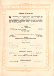 Page 16, 1929 Edition, Washington and Jefferson College - Pandora Yearbook (Washington, PA) online yearbook collection