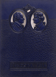 1934 Edition, Washington and Jefferson College - Pandora Yearbook (Washington, PA)