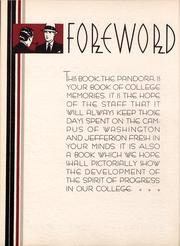 Page 5, 1935 Edition, Washington and Jefferson College - Pandora Yearbook (Washington, PA) online yearbook collection