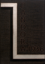 Page 1, 1936 Edition, Washington and Jefferson College - Pandora Yearbook (Washington, PA) online yearbook collection