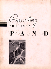 Page 3, 1937 Edition, Washington and Jefferson College - Pandora Yearbook (Washington, PA) online yearbook collection