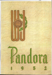 1952 Edition, Washington and Jefferson College - Pandora Yearbook (Washington, PA)