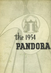 1954 Edition, Washington and Jefferson College - Pandora Yearbook (Washington, PA)