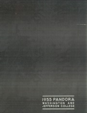 1955 Edition, Washington and Jefferson College - Pandora Yearbook (Washington, PA)