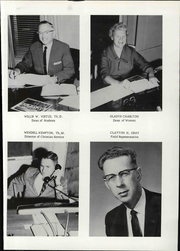 Page 17, 1963 Edition, Baptist Bible College - Tower Yearbook (Clarks Summit, PA) online yearbook collection