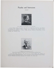 Page 15, 1903 Edition, Ursinus College - Ruby Yearbook (Collegeville, PA) online yearbook collection