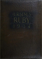 Page 1, 1934 Edition, Ursinus College - Ruby Yearbook (Collegeville, PA) online yearbook collection