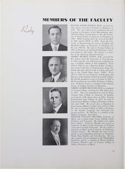 Page 26, 1934 Edition, Ursinus College - Ruby Yearbook (Collegeville, PA) online yearbook collection