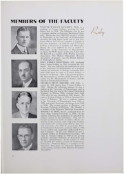 Page 27, 1934 Edition, Ursinus College - Ruby Yearbook (Collegeville, PA) online yearbook collection